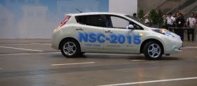 Nissan Self-Parking Car. Image by ComputerWorld.